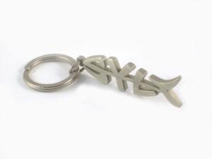 Syltfisch-Schlüsselanhänger-Metall